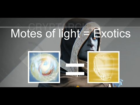 Destiny: Buying Exotic Engrams - Best Use for Motes of Light