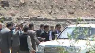 Prince Rahim Aga Khan  in Tang Village-Pamirs