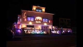 Maison illuminée de Mme Conrad à Bertrange (57) 2017