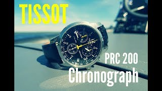 обзор часов Tissot PRC200 Chronograph