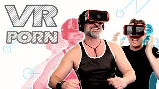 TRYING VR PORN