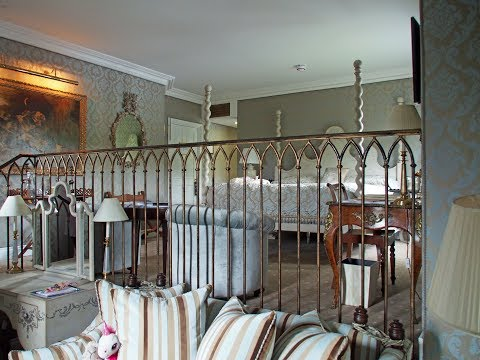 Inside a Junior Suite at Ashford Castle