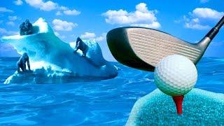 98% ЛЮДЕЙ НЕ СМОГУТ ПРОЙТИ ЭТУ КАРТУ! (Golf It)