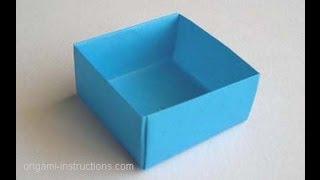 اوريغامي مربع