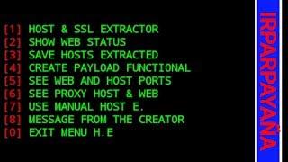 Como sacar host sin redes funcionales usando el nuevo script IRPARYAÑA (host extractor)