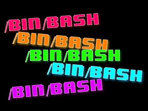 Color Variables BASH Shell Script Linux Tutorial