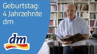 dm-drogerie markt hat Geburtstag: Mitarbeiter, Kunden & Götz Werner erinnern sich an 4 Jahrzehnte
