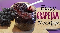 Homemade Grape Jam Recipe - Easy Low Sugar Jam