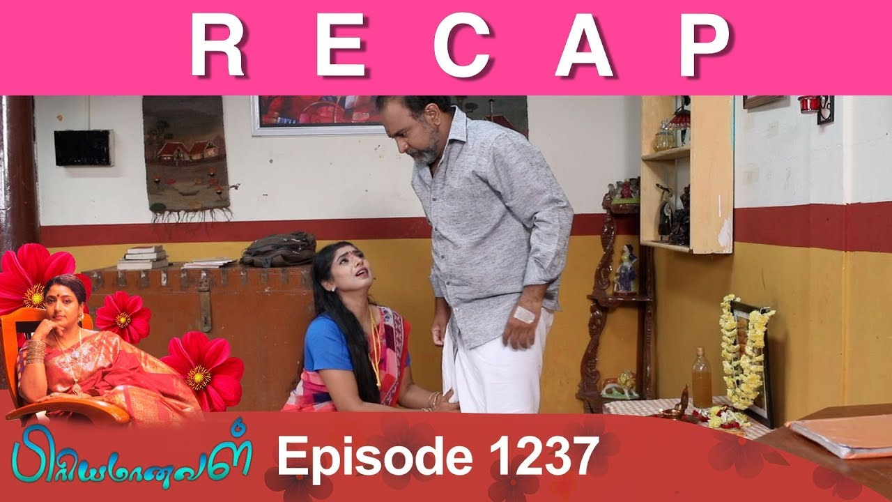 RECAP : Priyamanaval Episode 1237, 08/02/19