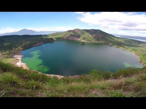 SUNDAY EPISODE: TAAL LAKE AND TAAL VOLCANO (House Building in the Philippines)