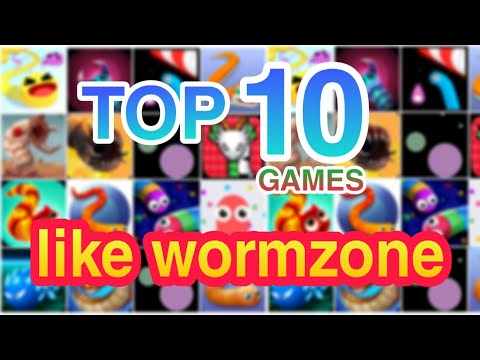 TOP 10 BEST GAMES LIKE WORMZONE FOR ANDROID AND IOS