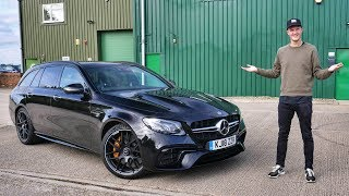 [My Next Car] Mercedes E63S Wagon Test Drive