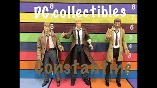 DC Collectibles CONSTANTINE action figure toy review