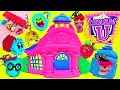 CHARM U Bracelets Princess Dress-Up & Schoolhouse Playset + Disney Princess Ariel Makeover Surprise