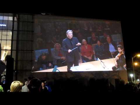 New World Symphony Wallcast Debut .MOV