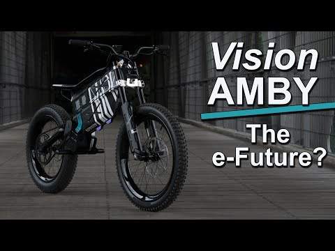 BMW Vision AMBY - Is this the future of LIGHT motorcycles?