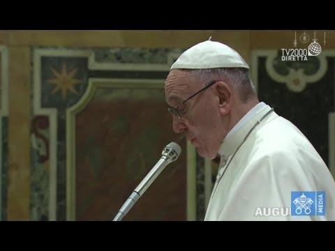 Gli auguri di Papa Francesco alla Curia Romana