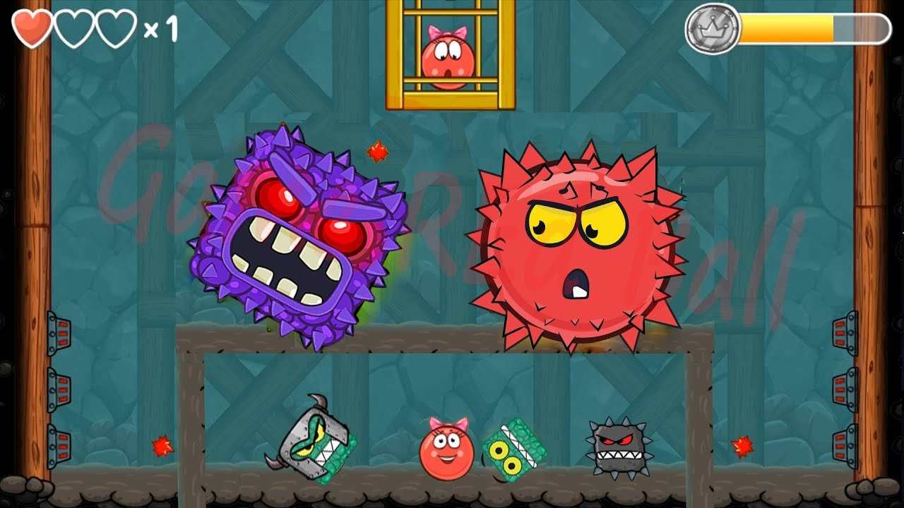 Download BILBERRY BOSS VS RED BOSS BALL VOLUME 5 in Red Ball 4 EPISODE 5 PERFECT 'INTO THE CAVE' Game For Kid