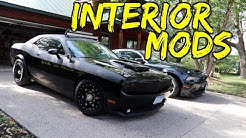 Mad Max Dodge Challenger Custom Interior mods including leather seats custom door panels