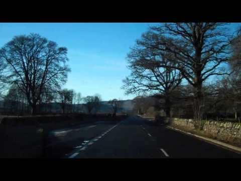 December Morning Drive To Comrie Perthshire Scotland