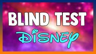 BLIND TEST #10 - Musique DISNEY (45 extraits)