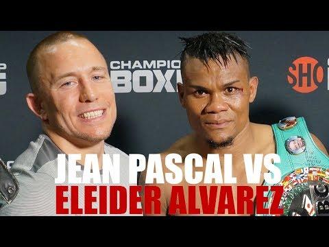 Jean Pascal Vs Eleider Alvarez  ( New Footages ! Never Release )