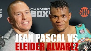 Jean Pascal vs Eleider Alvarez  ( New Footages ! Never Release )