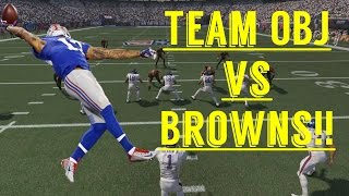 CAN A TEAM FULL OF OBJ'S BEAT THE BROWNS!?! CRAZIEST GAME EVER!!