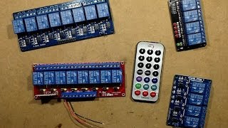 infra red remote control relay module