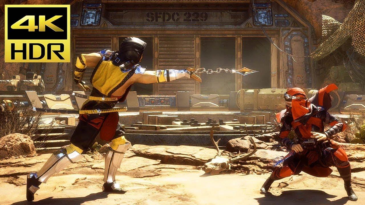 Mortal Kombat 11 4k Hdr Gameplay Ps4 Pro 60ᶠᵖˢ ᵁᴴᴰ