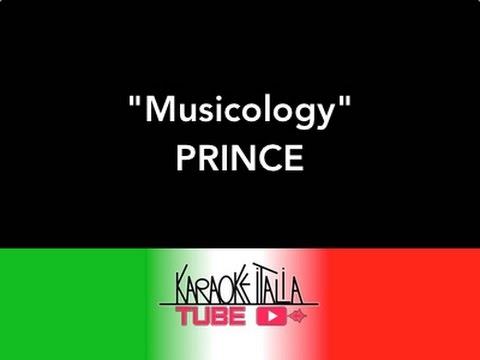 MUSICOLOGY   PRINCE    Video Karaoke   Base musicale   Instrumental