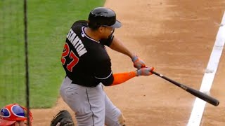 Giancarlo Stanton 2015 Highlights [Miami Marlins]