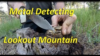 Metal Detecting Lookout Mountain