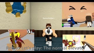 ZMUTOVANÍ LIDÉ VE VÝTAHU!!! Roblox Let's play: The normal elevator (popis)