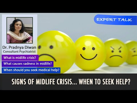 Signs Of Midlife Crisis | Dr. Pradya Diwan | Empty Nest | Depression | Mental Health Awareness