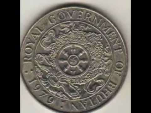 One Ngultrum of Bhutan..History of making coin..Antic Coin collection of Bhutan .