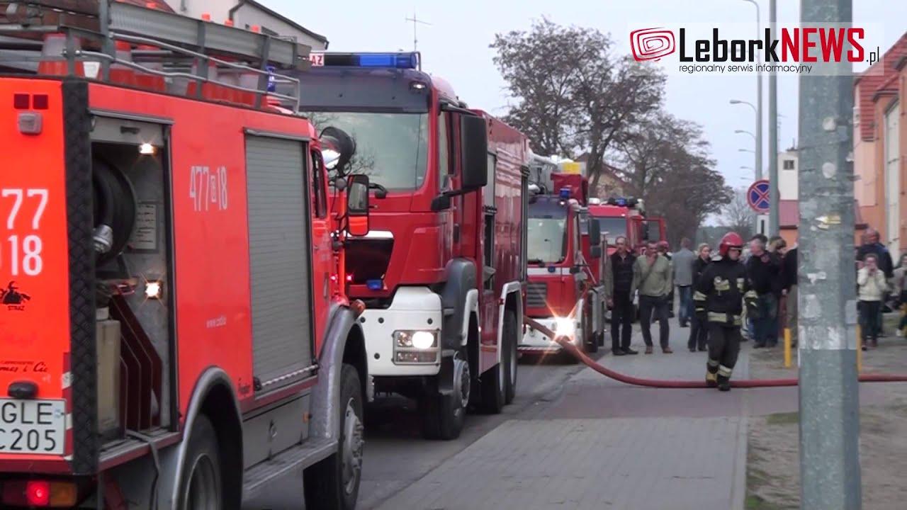 2013-04-22 - Śmierć w płomieniach - www.LeborkNEWS.pl
