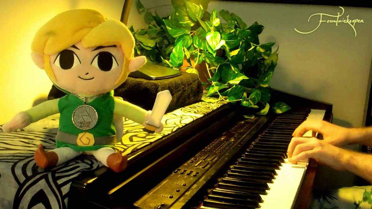 how to play the legend of zelda theme on piano