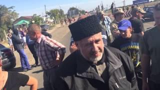 Дальнобойщики возмущаются действиями Чубарова и Парасюка
