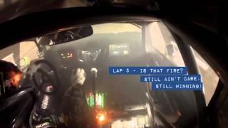 [HOONIGAN] Race Car on Fire? Ken Block #AINTCARE, Presses on During Rally-X Race.
