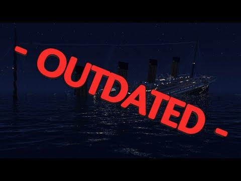 Minecraft RMS Titanic sinking at 2.17 AM