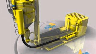 Dickinson Group Industrial Vacuum Services MegaVac Cyclone Loader Animation 2