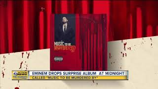 Eminem drops surprise album at midnight