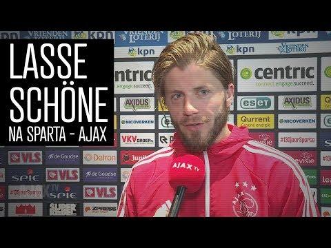Lasse Schöne: 'Helpt natuurlijk niet als je met 1-0 achter komt'