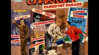 Les Charlots - La Bouche camembert (1986) (Cover des Yeux Revolver)