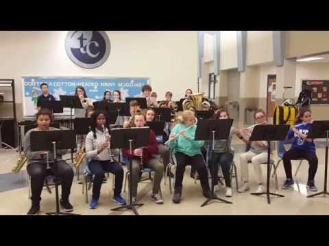 2016 Tates Creek Middle School Jazz Band
