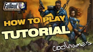 How To Play - Fallout 2 Tutorial