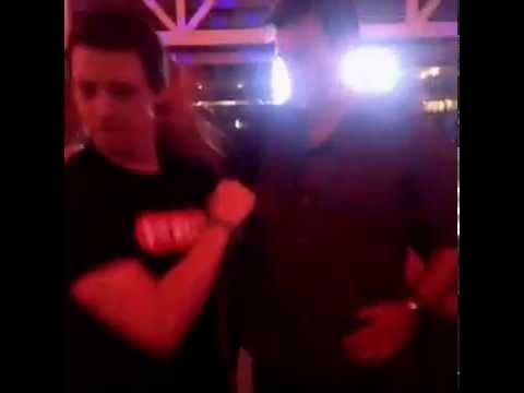 Nathan Fillion and Eric Artell dancing!