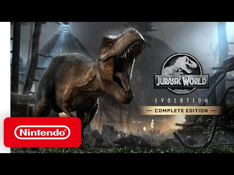 Jurassic World Evolution: Complete Edition - Announcement Trailer - Nintendo Switch