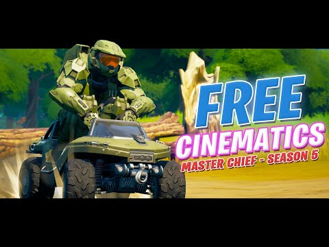 *FREE* Fortnite Season 6 Cinematics (FREE Master Chief (BEST MATES) & Chapter 2 Cinematic Pack)